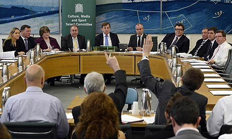 Culture Select Committee, House of Commons