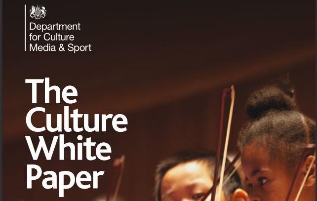 DCMS White Paper disadvantaged editorial